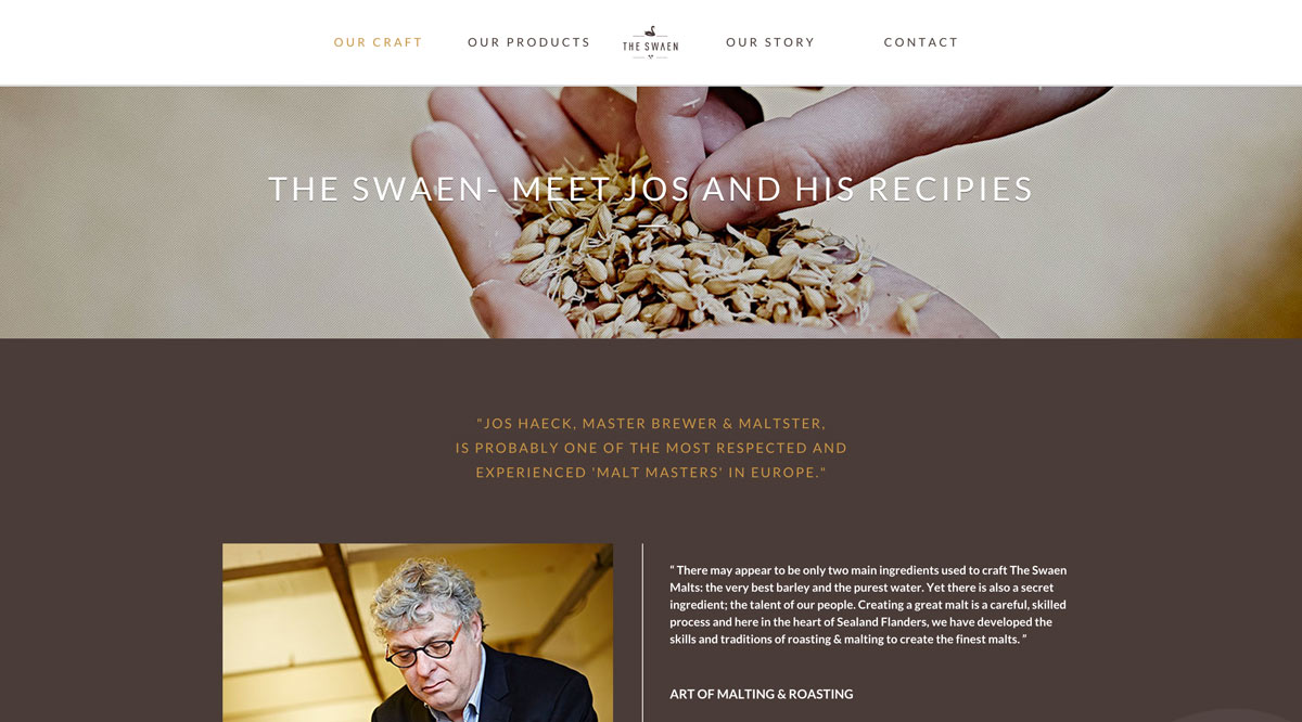 the swaen malt craft beer warre buysse projects