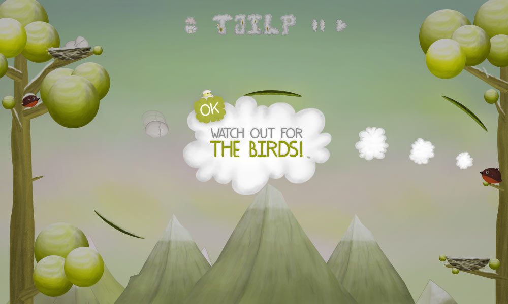 tjilp tjilpthegame.com tjilp the bird that lost his nest ios game web based
